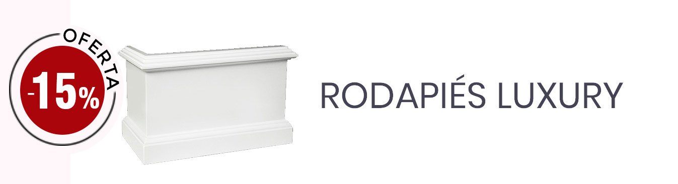 Rodapiés Luxury