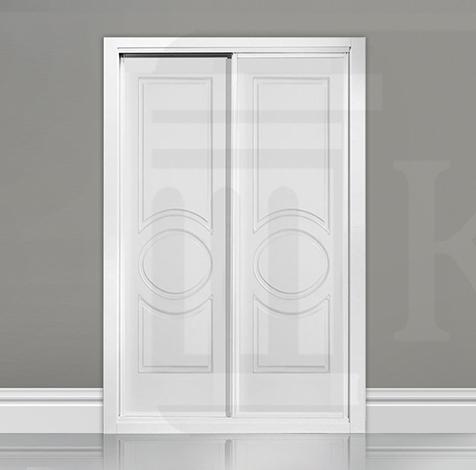 Frente de armario corredera fresado - ARLES