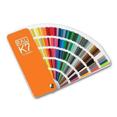 Colores carta RAL