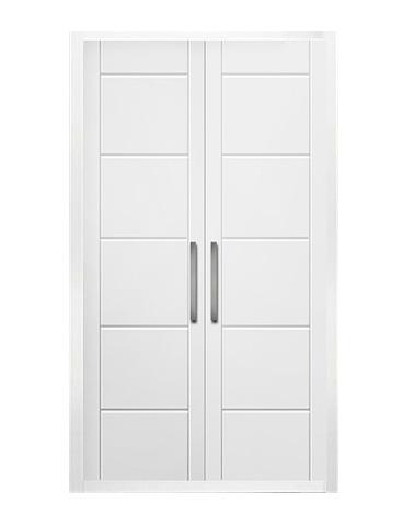 Puerta de armario abatible lacado líneas - TARRAGONA