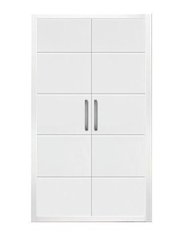 Puerta de armario abatible lacado líneas - MADRID