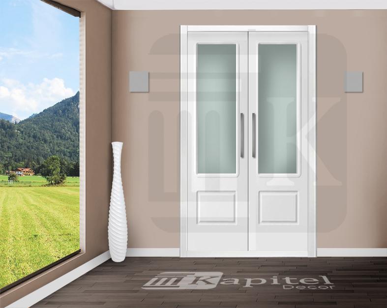 Puerta para armario abatible con cristal - MARSELLA VE