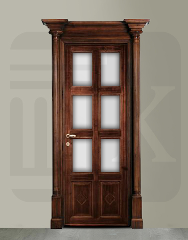 Puerta interior de Estilo en madera MANTEGNA 4