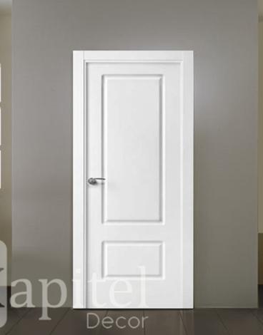 Puerta lacada fresada - Albi