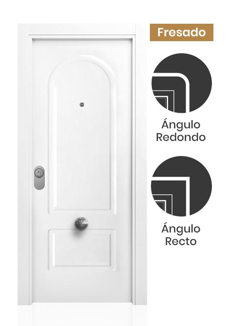 Puerta blindada lacada Córcega
