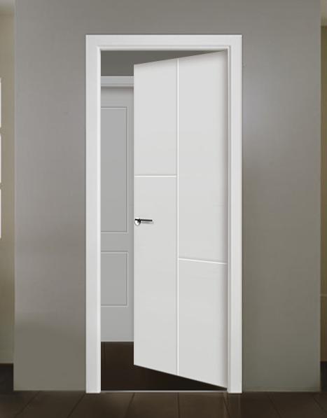 Puerta interior lacada modelo Burdeos
