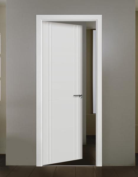 Puerta interior lacada modelo Oviedo