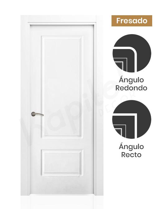 Puerta lacada fresada Albi
