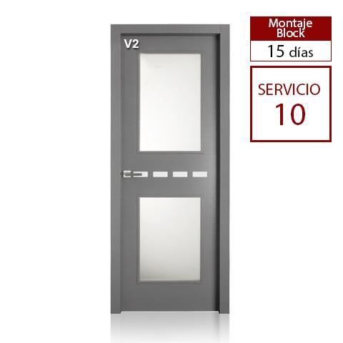 Puerta con aluminio San Rafael - Z04