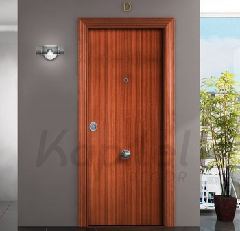 Sapelly Liso - Puerta blindada Kapitel Decor 2a