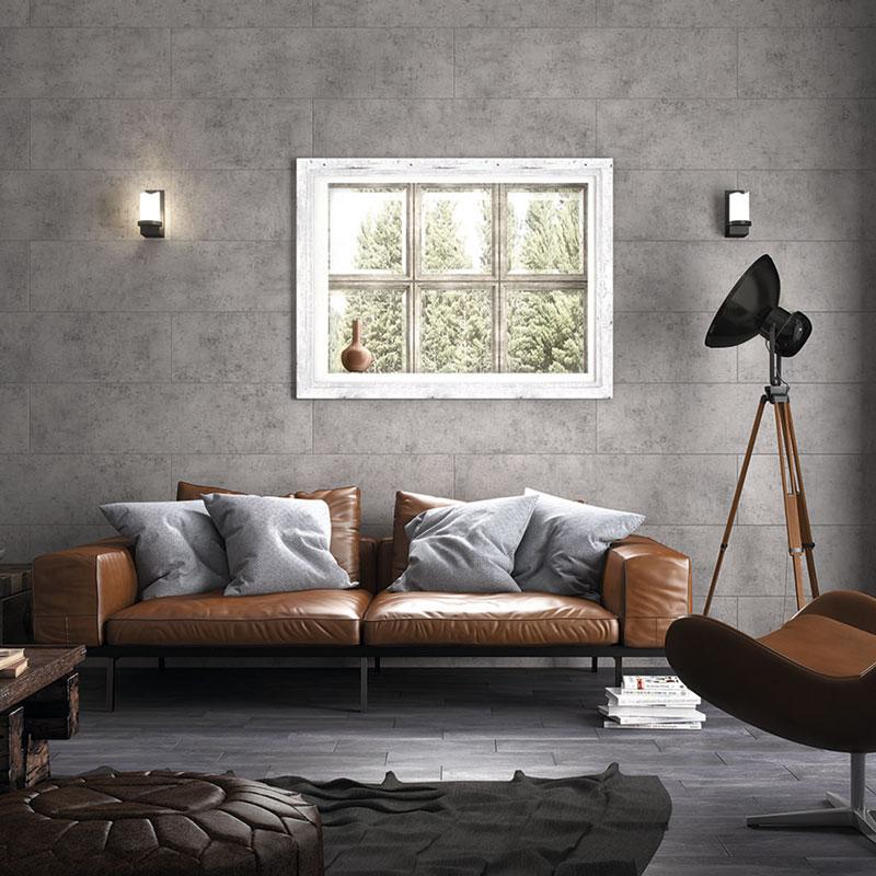 Revestimiento PVC Baridecor AQUA Extensive Concrete Oscuro