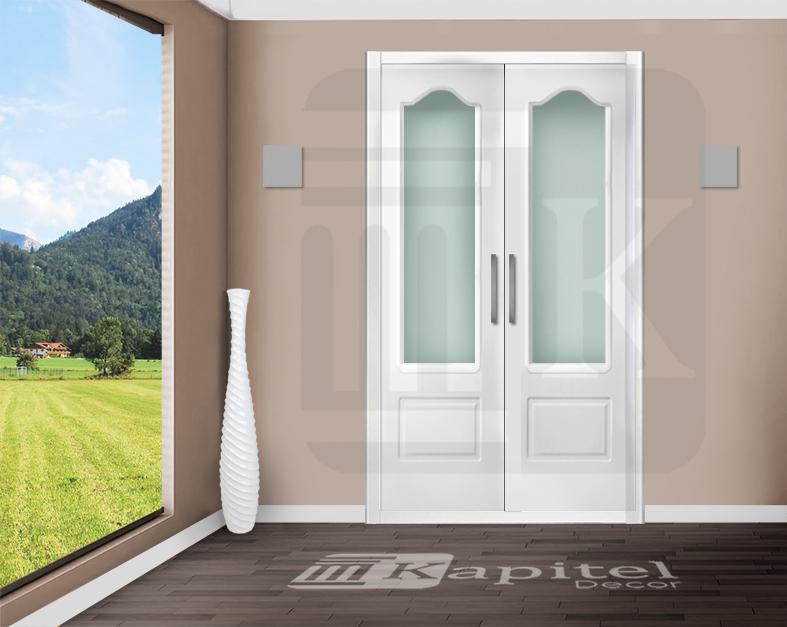 Puerta para armario abatible con cristal - TOULOUSE V